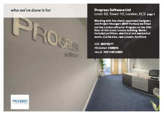 Progress software tower 42